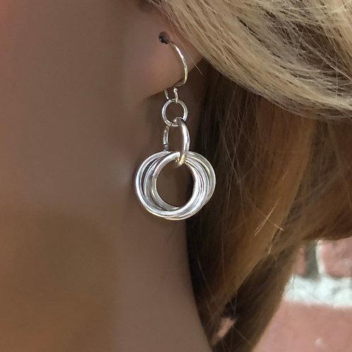 Sterling Earrings No. 105