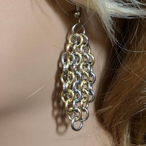 Mixed Metal Earrings No. 103