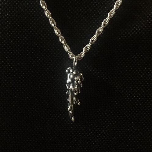 Drops of Silver Pendant