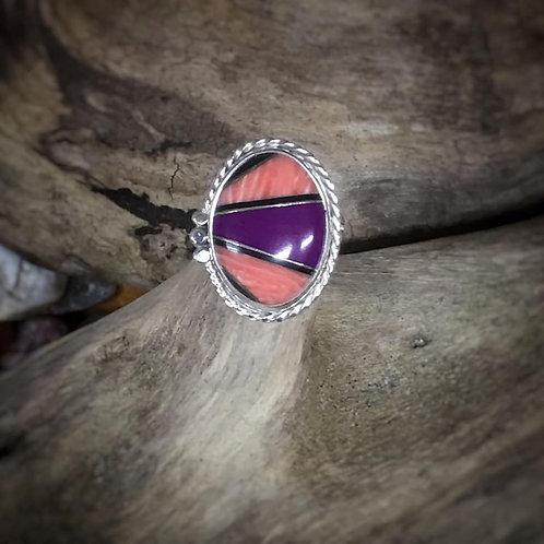 Inlaid Stone Ring