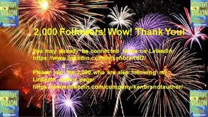 2,000! Wow! Thank You!