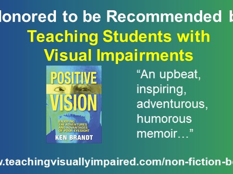 A fun honor for Positive Vision!