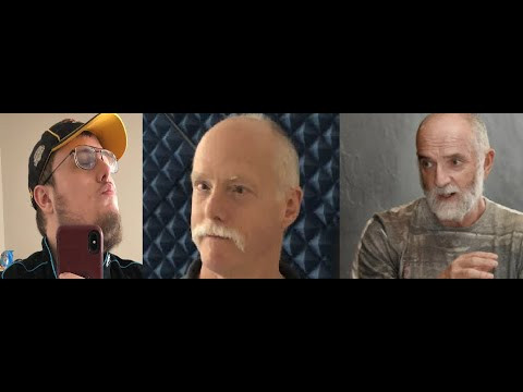 Head shots of Doug Kenney, Ken Brandt, and Andy McPhee)