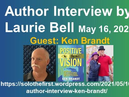 Melbourne Book Blogger/Author interviews Ken