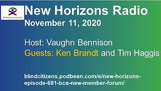 BCA New Horizons New Member Forum 2020-1