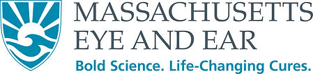 Logo and tagline - Massachusetts Eye and Ear. Bold Science. Life-Changing Cures.