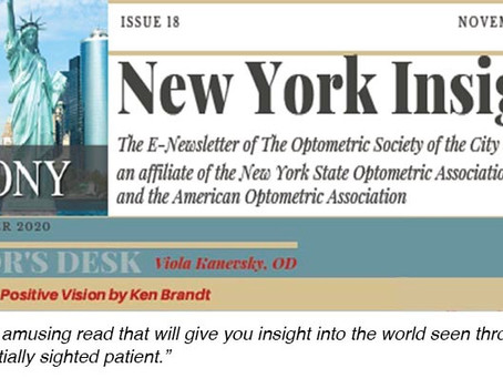 A Book Review for Eye Doctors!