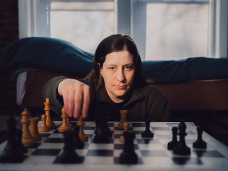 Poor Vision Chess Champion