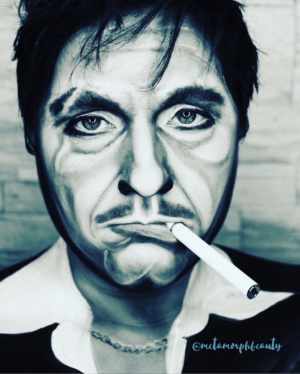 Al Pacino B&W