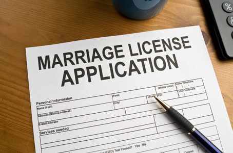 Marriage licenses:  making your marriage legal