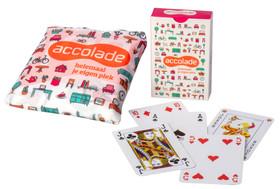 Accolade - Tasjes van RPET en speelkaarten