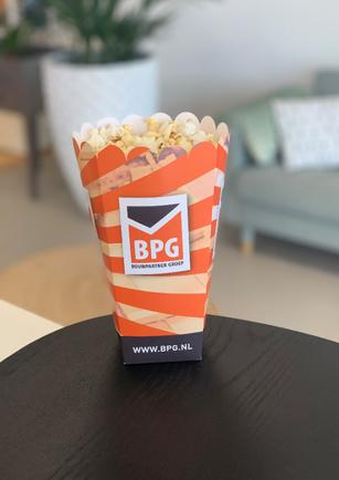 Popcorn in eigen doos BPG
