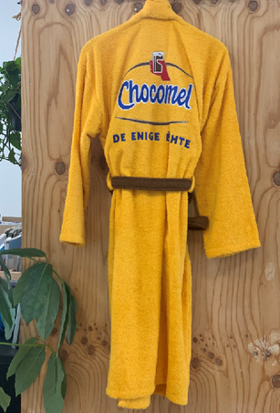 Badjas custom made Chocomel