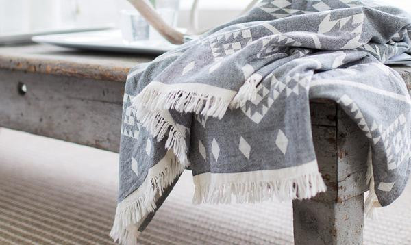 Kilim Towel - Turkish T
