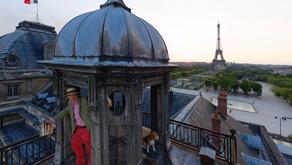Miel de Paris e a Torre Eiffel ali ao lado