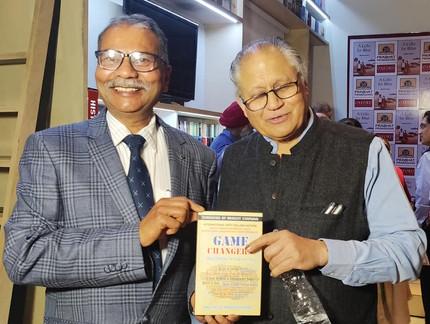 Me with Mr. Shiv Khera