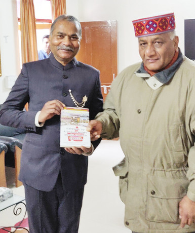 Self with Gen VK Singh ,Union Minister