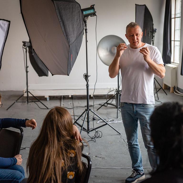 Atelier de fotografie de studio