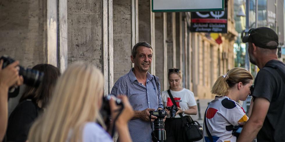 Atelier de fotografie de stradă și oameni