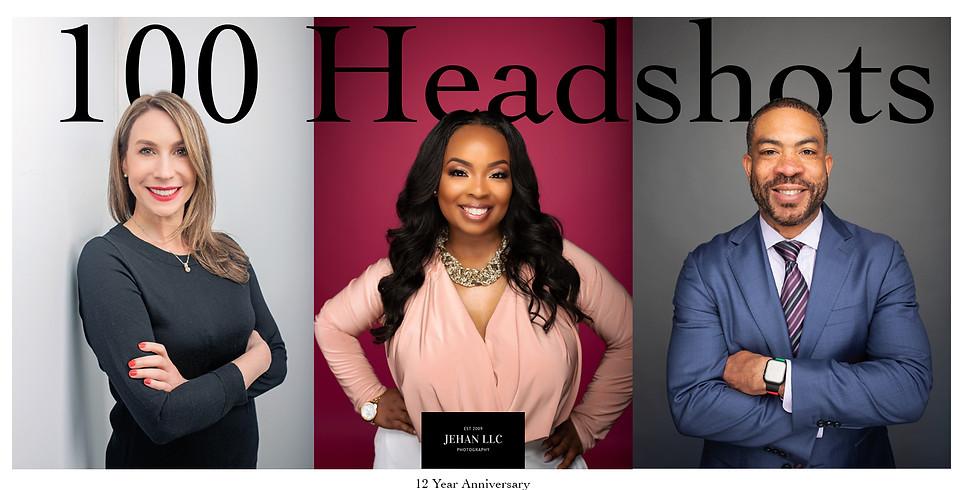 100 Headshot Campaign - 12th Anniversary Edition