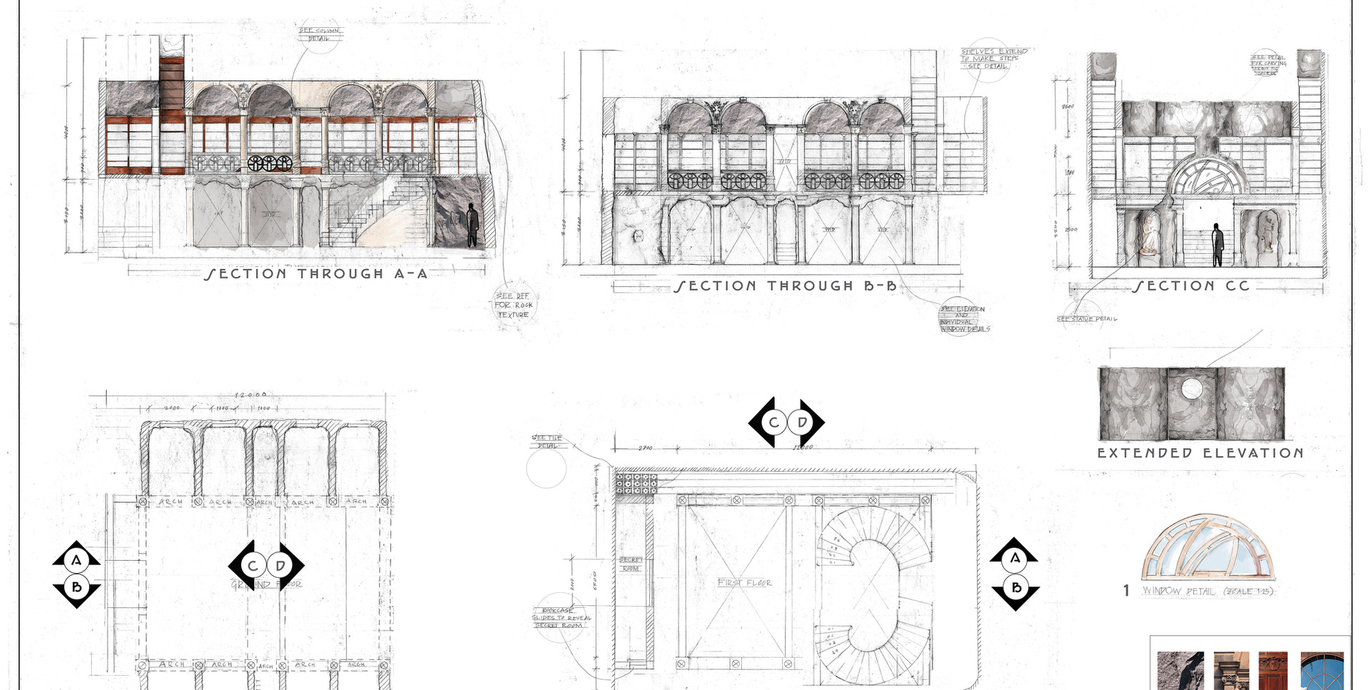 Snicket Files - Technical Drawing - Sheet 2
