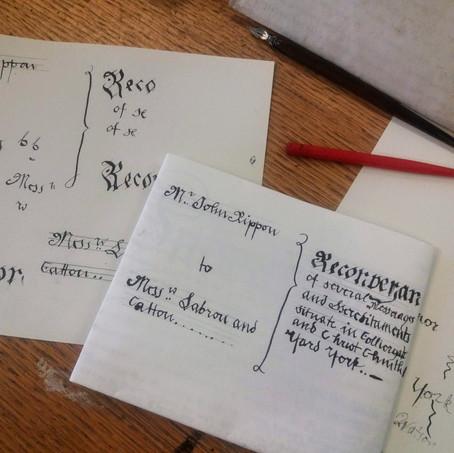 Gentleman Jack - Handwritten caligraphy