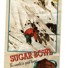 Sugar Bowl Ski Lodge Poster