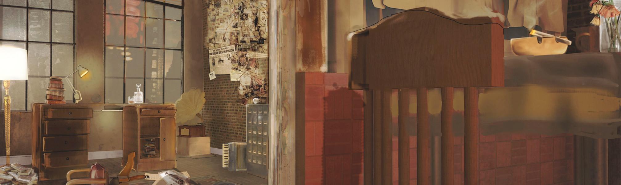 visual 1 - lemony's hideout 1950s darker