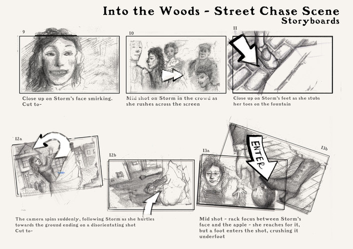 Into the Woods Storyboards pt. 2