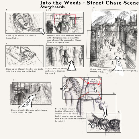 Into the Woods Storyboard pt. 1