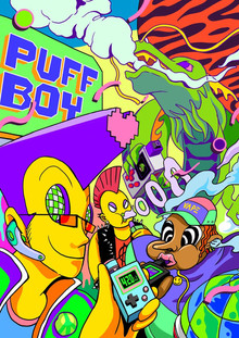 WIZMAN 420 TOUR | Introducing the PUFF BOY