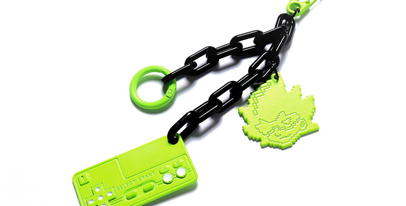 PSYCHEDELIC LUMINOUS MULTIFUNCTIONAL KEY CHAIN