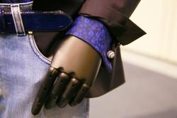 Designer clothes and cufflink