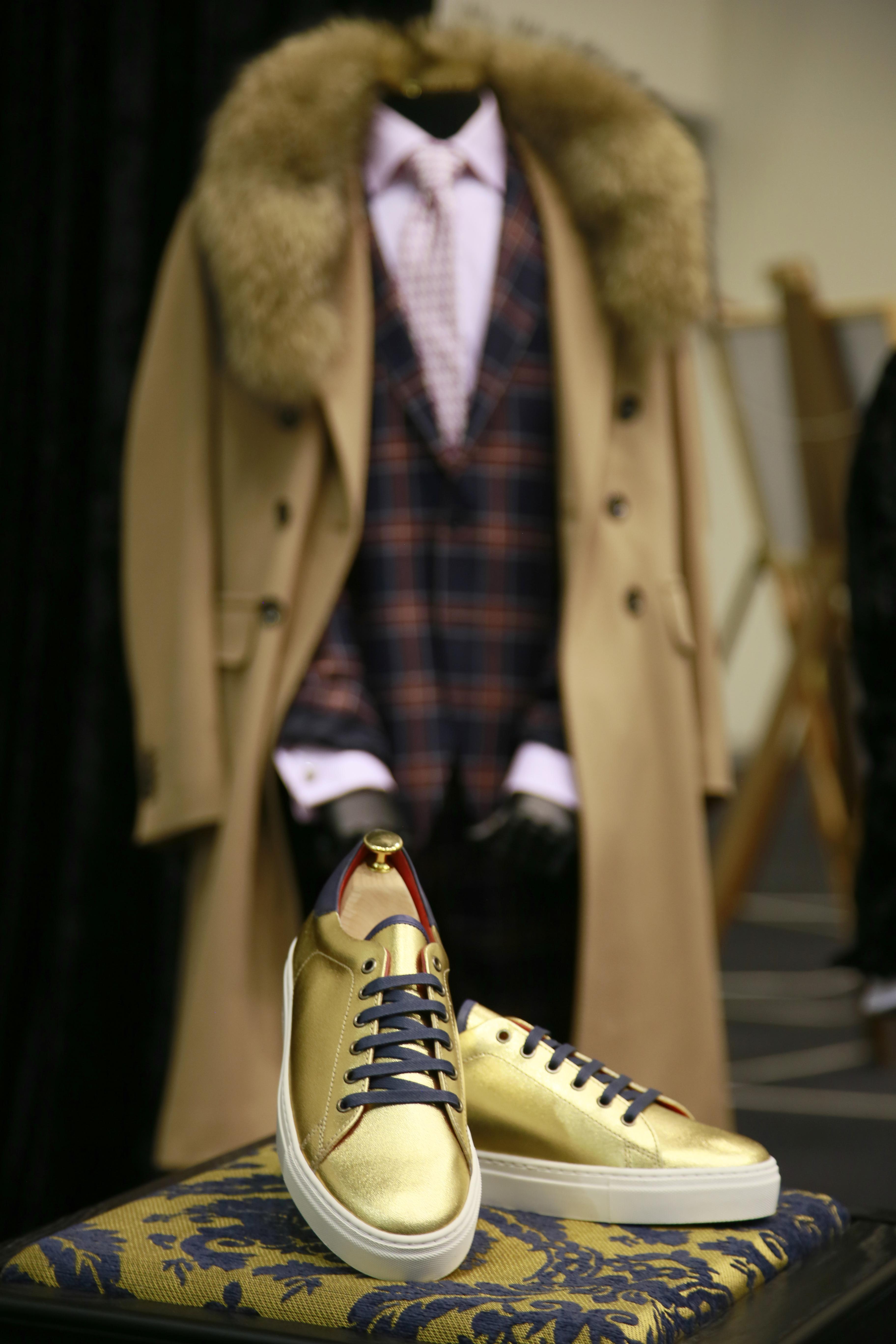 Men's designer clothing