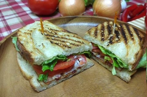 BLT pressed sandwich