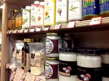 Organic food and oils