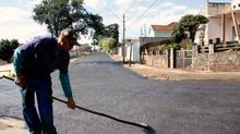 Lama Asfáltica - resistencia sobre o asfalto