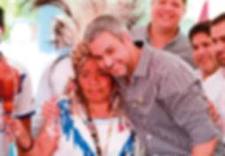 Jacinta-Pereira-con-el-presidente-de-Par
