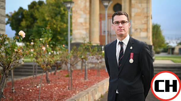 Veteran honours all sacrifices