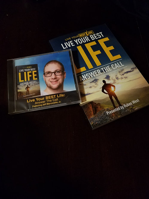"Live Your Best Life ""Book & CD"""