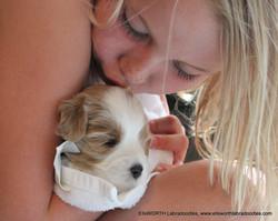 lots of puppy loving