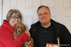 happy puppy, happy family!