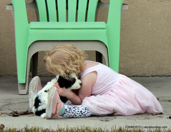 oh kids and puppies ! LOVE