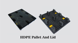 HDPE Pallet And Lid