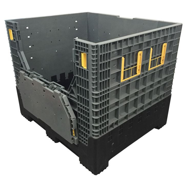 Foldable Bulk Plastic Container