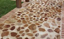 Sandstone and Klompie Bricks