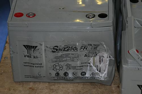 Reciclado de baterías de gel