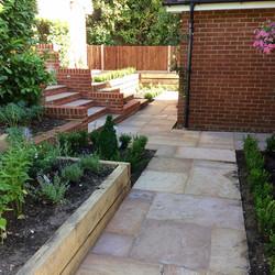 Farnham garden entrance
