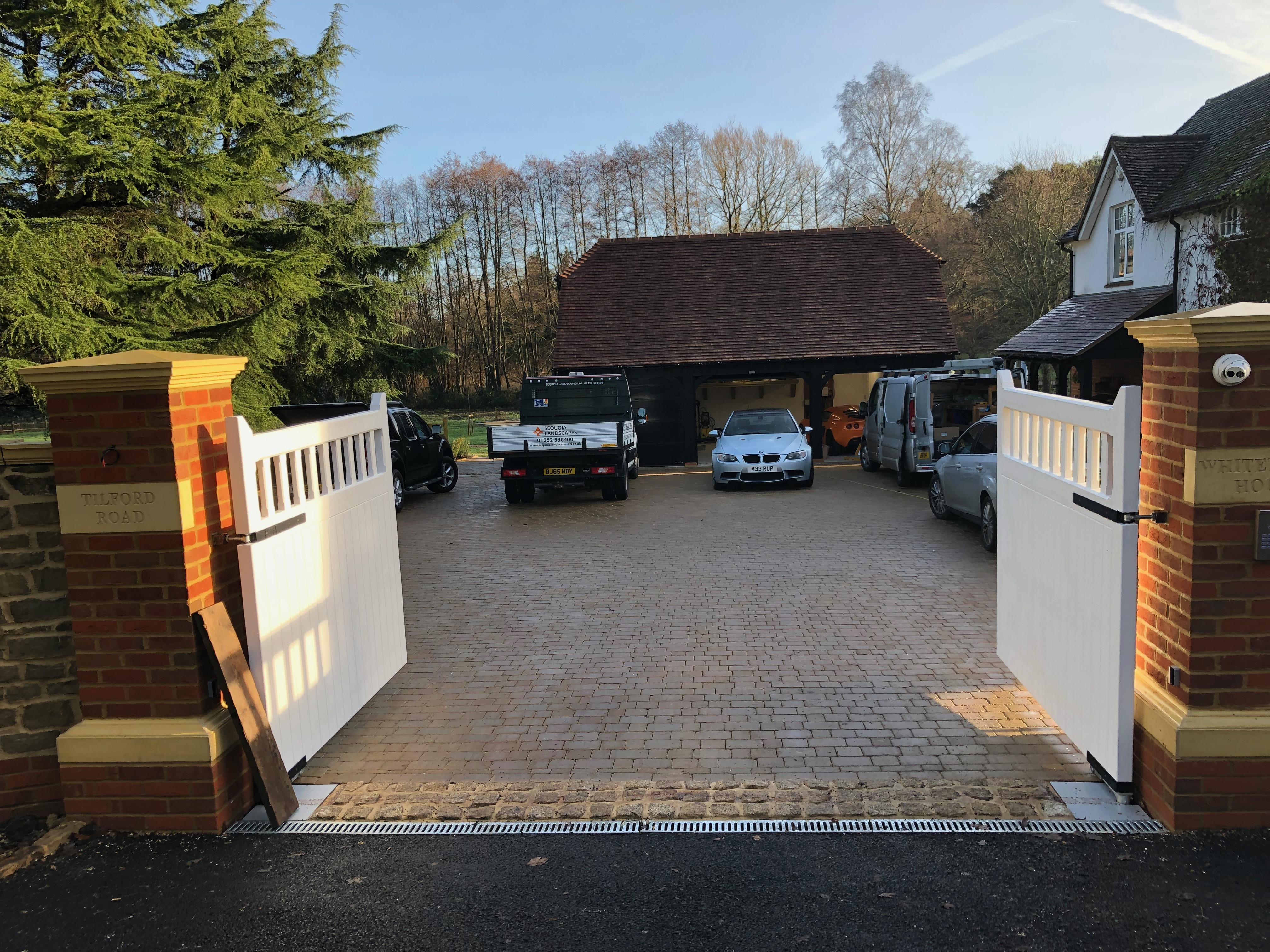 Farnham front garden