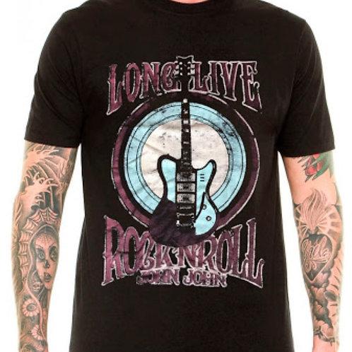 Camiseta John John com tema Rock
